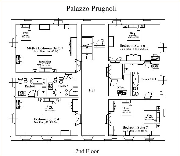 Secondfloor Plan